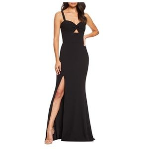 Dress the Population Brooke Twist Front Gown